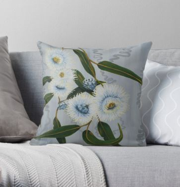 Blue Gum Cushion