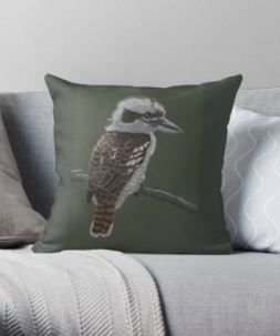Kookaburra Cushion