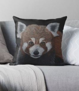 Red Panda Cushion