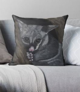 Possum Cushion