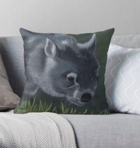 Wombat_Cushion